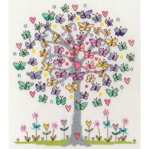 Любимая весна Набор для вышивания Bothy Threads XKA10