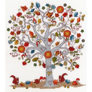 Любимая осень Набор для вышивания Bothy Threads XKA12