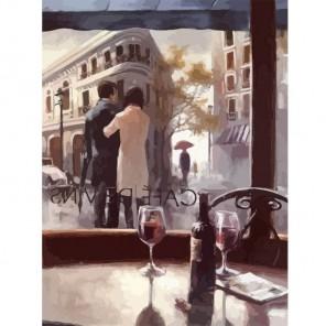 Кафе Винс (репродукция Брента Хейтона) Раскраска по номерам акриловыми красками на холсте Живопись по номерам