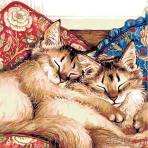 Раскладка Обнимашки Раскраска картина по номерам на холсте A117
