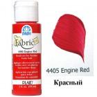 4405 Красный Краска по ткани Fabric FolkArt Plaid
