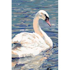 Прекрасный лебедь Раскраска по номерам на холсте Живопись по номерам A408