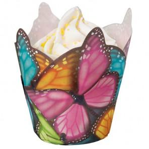 Бабочки Набор бумажных форм для кексов Wilton ( Вилтон )