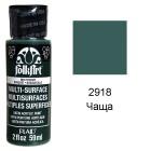 2918 Чаща Для любой поверхности Сатиновая акриловая краска Multi-Surface Folkart Plaid