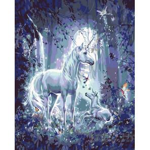 Волшебная луна Раскраска картина по номерам на холсте KTMK-11260