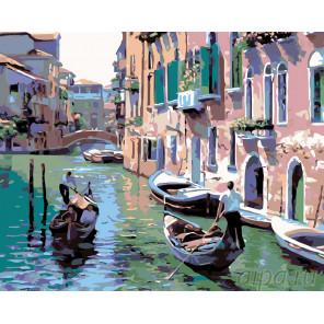 Венецианская прогулка Раскраска картина по номерам на холсте KTMK-97332