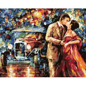 Романтика ночи Раскраска картина по номерам на холсте KTMK-78987