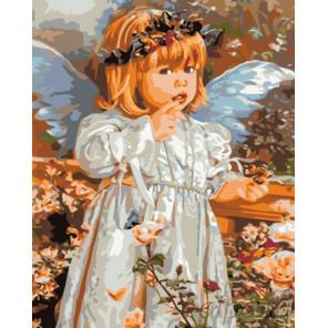Тихий ангел Раскраска по номерам на холсте Живопись по номерам KTMK-60868