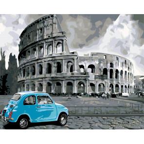 Римские каникулы Раскраска по номерам на холсте Живопись по номерам KTMK-951181