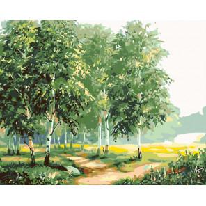 Тихое утро Раскраска по номерам на холсте Живопись по номерам KTMK-01882