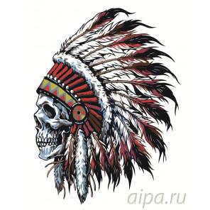 Дух предков Раскраска картина по номерам на холсте CP14