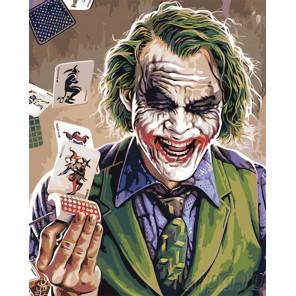 Джокер Раскраска картина по номерам на холсте PA157