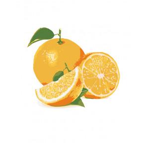 manual Сочный апельсин Раскраска по номерам на холсте Живопись по номерам