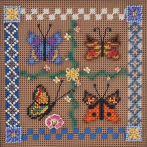 Весенние бабочки Набор для вышивания MILL HILL MHCB122