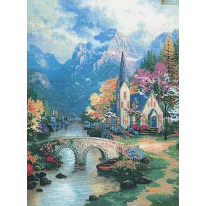 Часовня в горах Набор для вышивания CANDAMAR DESIGNS 51113