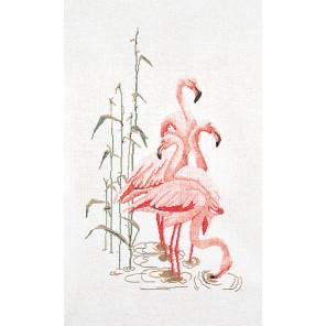 Фламинго Набор для вышивания Thea Gouverneur 1070