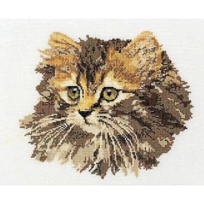 Длинношерстная кошка Набор для вышивания Thea Gouverneur 930
