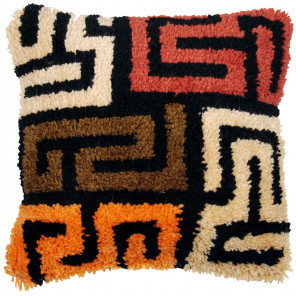 В стиле бохо Набор для вышивания подушки Vervaco PN-0175306