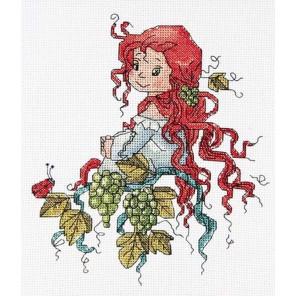 Фея виноградной лозы Набор для вышивания Астрея (Глурия)