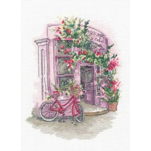 Любимое кафе Набор для вышивания Овен 1204