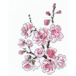 Веточка сакуры Набор для вышивания Риолис 1818