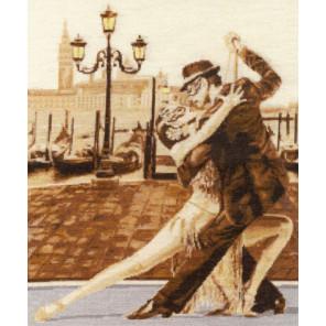 Венецианское танго Набор для вышивания Золотое Руно ГТ-044