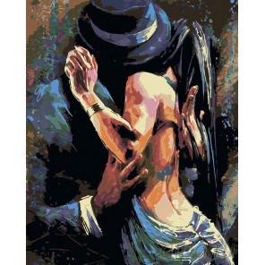 2 В ритме танго (художник Колин Стэплес) Раскраска по номерам на холсте Живопись по номерам