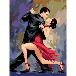 В ритме танго Раскраска по номерам на холсте Живопись по номерам RO40