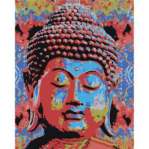 Макет Радужный Будда Раскраска картина по номерам на холсте RA308-80x100