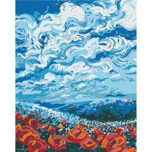 Воздушный мир Раскраска картина по номерам на холсте F67-80x100