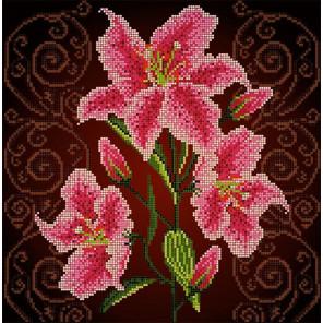 Нежная лилия Ткань с рисунком Божья коровка 0022
