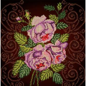 Бархатная роза Ткань с рисунком Божья коровка 0023