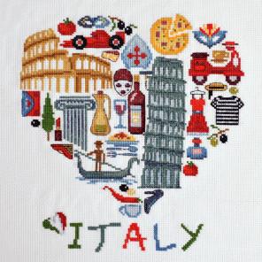 Италия Набор для вышивания Марья Искусница