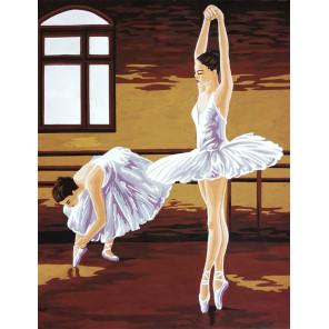 Уроки балета Канва жесткая с рисунком для вышивки Gobelin L