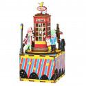 Телефонная будка с музыкальными эффектами 3D Пазлы Деревянные