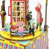 Телефонная будка с музыкальными эффектами 3D Пазлы Деревянные AM401