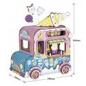 Фургончик с мороженым с музыкальным эффектом 3D Пазлы Деревянные
