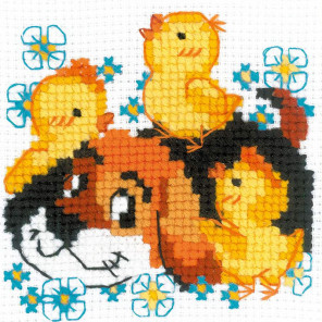 Дружок Набор для вышивания Риолис 1840