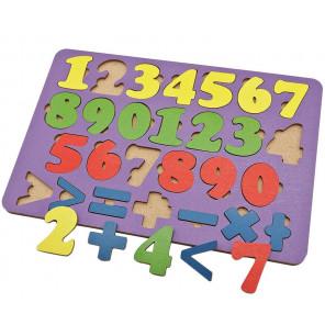 Арифметика 27 знаков Игра развивающая деревянная 6101131