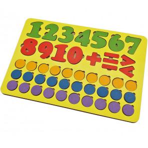 Арифметика 45 знаков Игра развивающая деревянная 6101151