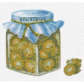 Пример в рамке Варенье из крыжовника Набор для вышивания Овен 1232