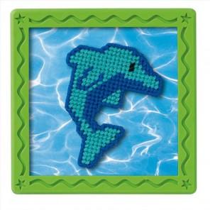 Набор для вышивания: Голубой дельфин, гобелен