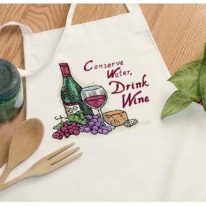 Сладкое вино Набор для вышивания Печатный крест Dimensions ( Дименшенс )