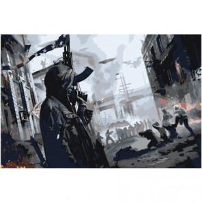 Homefront: The Revolution Раскраска картина по номерам на холсте
