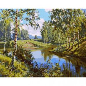 Тихое место Раскраска картина по номерам на холсте