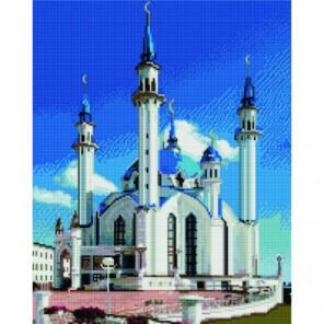 Мечеть Кул-Шариф Алмазная мозаика вышивка Painting Diamond