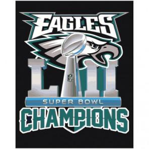 Eagles Champions 80х100 Раскраска картина по номерам на холсте