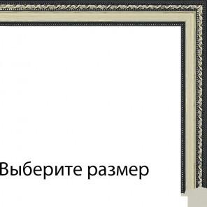 Выберите размер Коричневые переплетения на бежевом Рамка для картины на подрамнике N143