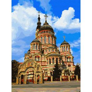 Благовещенский кафедральный собор Раскраска картина по номерам на холсте Z-EX5931