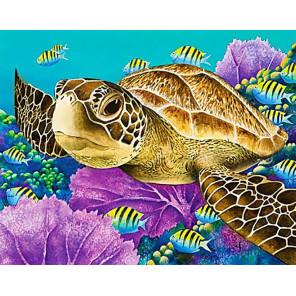 Морская черепаха Алмазная вышивка мозаика Гранни AG2428